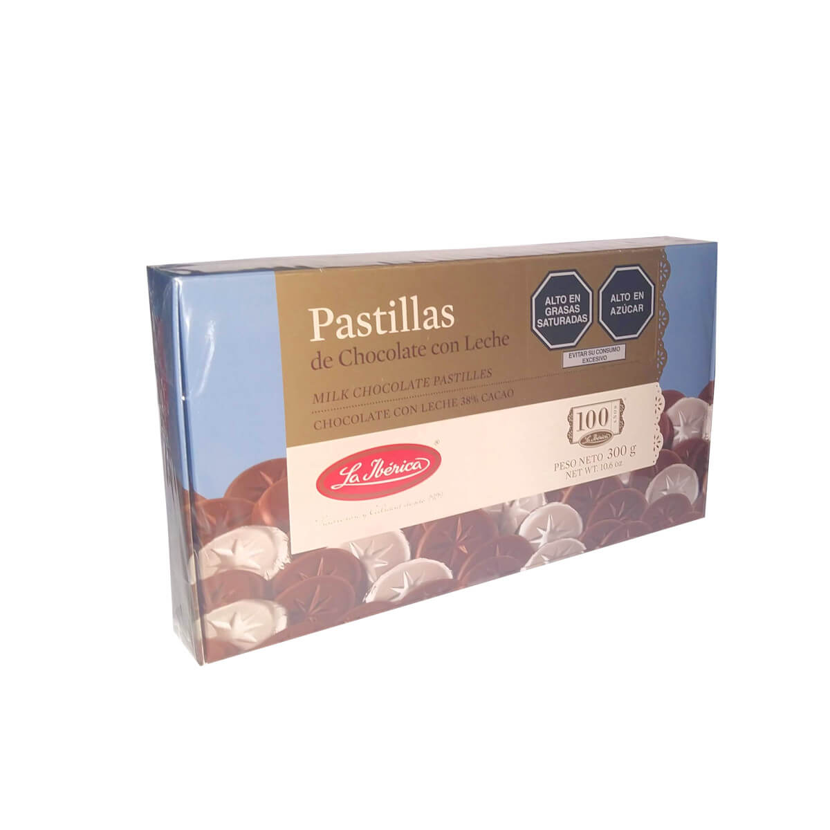 Pastillas de chocolate con leche